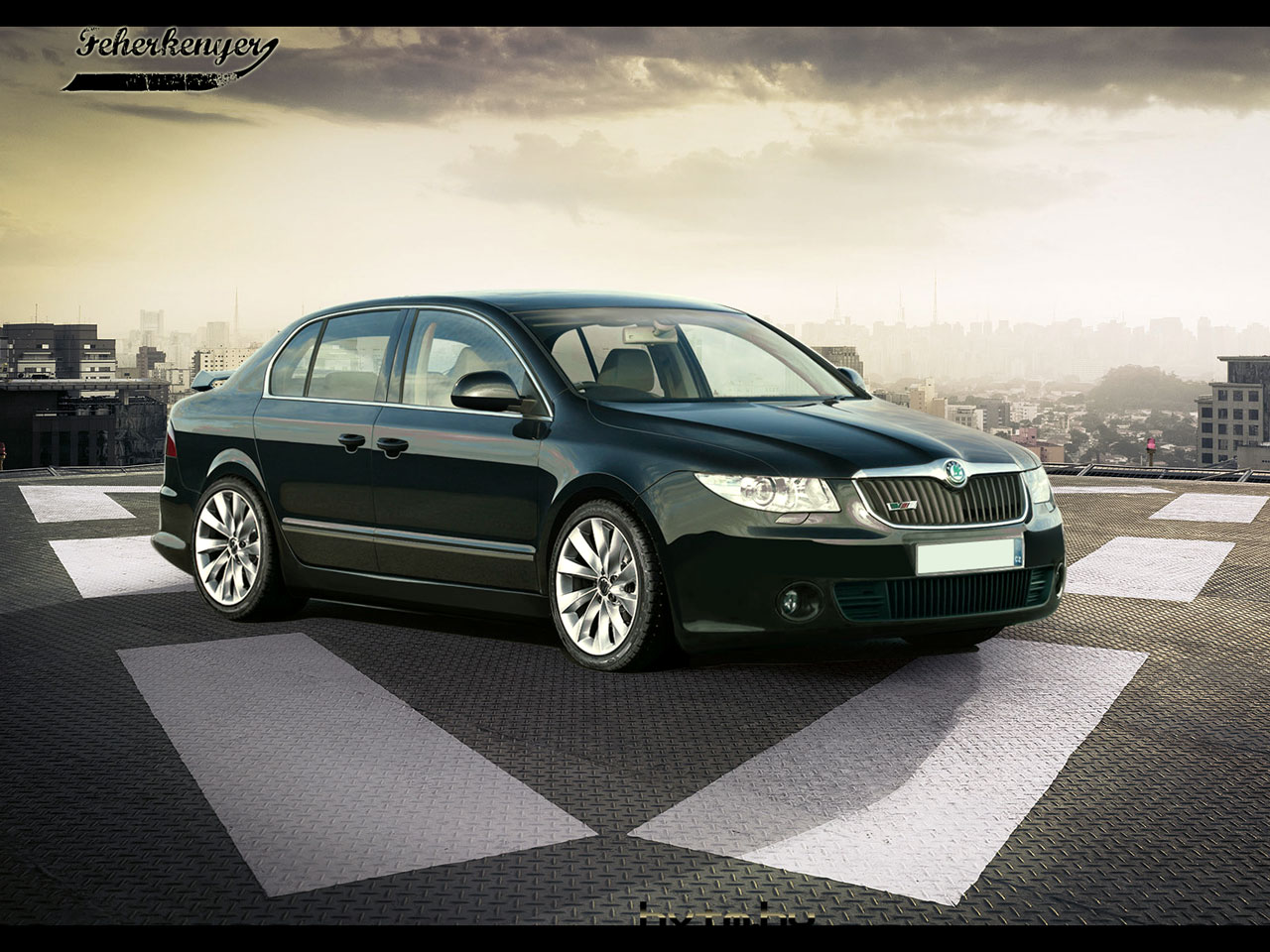 skoda superb ii rs of slechts een droom. Black Bedroom Furniture Sets. Home Design Ideas