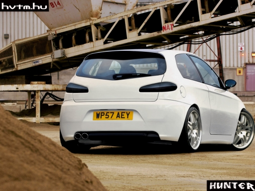 alfa romeo 147 white - photo #10