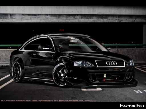 Audi A6 Black Tuning - January, 2009 - warehouse - Hammer's Virtual ...