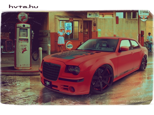 Chrysler 300C HotRed