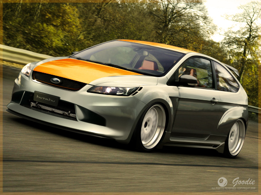 Ford Focus (17) - February, 2009 - warehouse - Hammer's Virtual Tuning Magazine