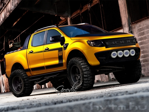 Ford Ranger Boss - March, 2011 - warehouse - Hammer's Virtual Tuning