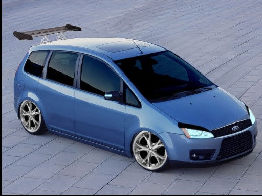 ford focus c max streetracing october 2004 warehouse hammer 39 s virtual tuning magazine. Black Bedroom Furniture Sets. Home Design Ideas