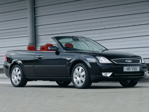 Ford Mondeo Convertible August 2004 Warehouse
