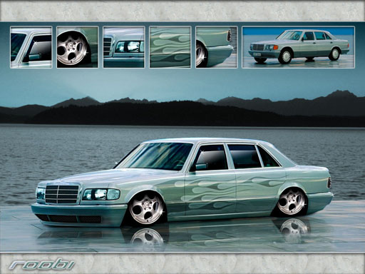 Mercedes-Benz W126 - Mercedes-Benz - catalogue - Hammer's Virtual ...