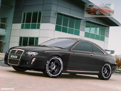 Rover 75 Coupe DTM