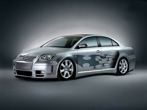 toyota avensis 2004 tuning. Black Bedroom Furniture Sets. Home Design Ideas